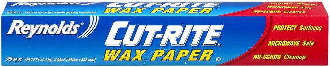 "Cut-Rite Wax Paper 12"" X 75ft. Roll Boxed"