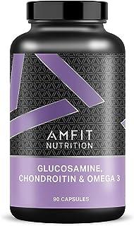 Amazon Brand - Amfit Nutrition Glucosamine, Chondroitin &