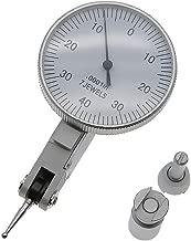 AMTAST Dial Test Indicator 7 Jewels Dial Indicator Gauge Range 0.008'' Graduation 0.0001'' 0-40-0 Scale