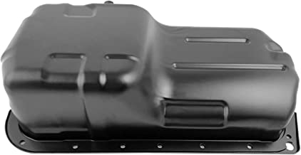 Beasteel 264403 HOP04A 11200PT0010 11251P0A000 11200PT0000 Steel Engine Oil Pan with Drain Plug for 97 Acura CL 90-97 Honda Accord Odyssey Prelude 96-97 Isuzu Oasis