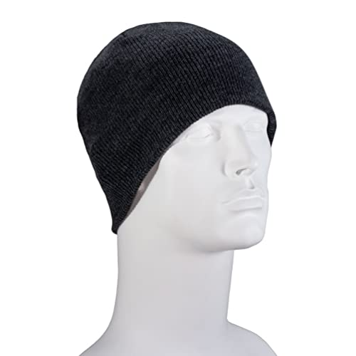 cca90f9fd8a46 100% Soft Acrylic Solid Color Beanie Winter Hat - Skull Knit Cap - Made in