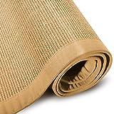 casa pura® Sisal Teppich aus Naturfasern mit Bordüre aus Baumwolle   pflegeleicht   Größe wählbar (Natur, 200 x 290 cm) - 8