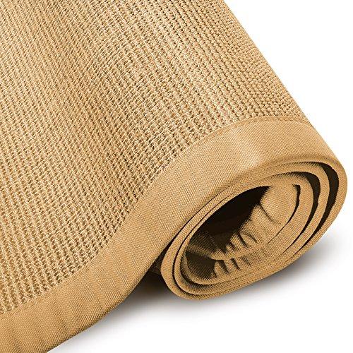 Meisterei Floordirekt Sisal-Teppich modern hochwertige Bordüre Rücken: Naturlatex (rutschhemmend), Größen