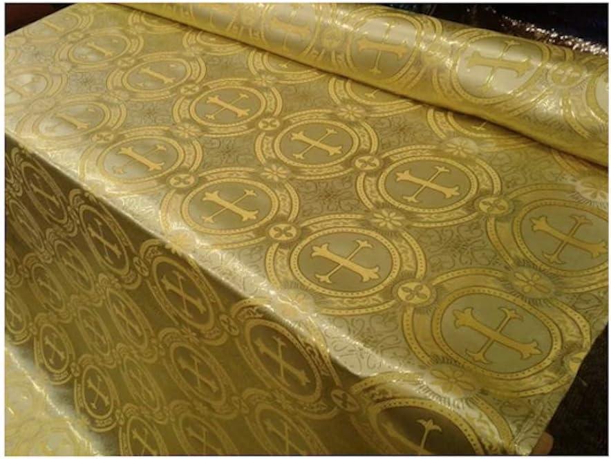 Champagne Gold Brocade Fabric,Indian brocade,Brocade fabric by the yard,Wedding brocade NFAF208 40/% SALE Brocade fabric