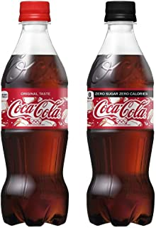 【セット買い】コカ・コーラ 500mlPET×24本 + コカ・コーラ ゼロ ペットボトル 500ml×24本