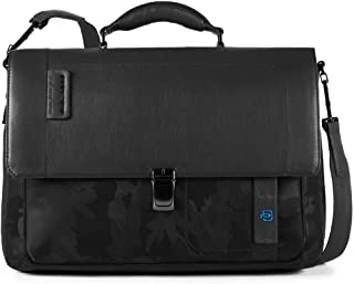 Piquadro Expandable 15.0 Laptop Briefcase P16