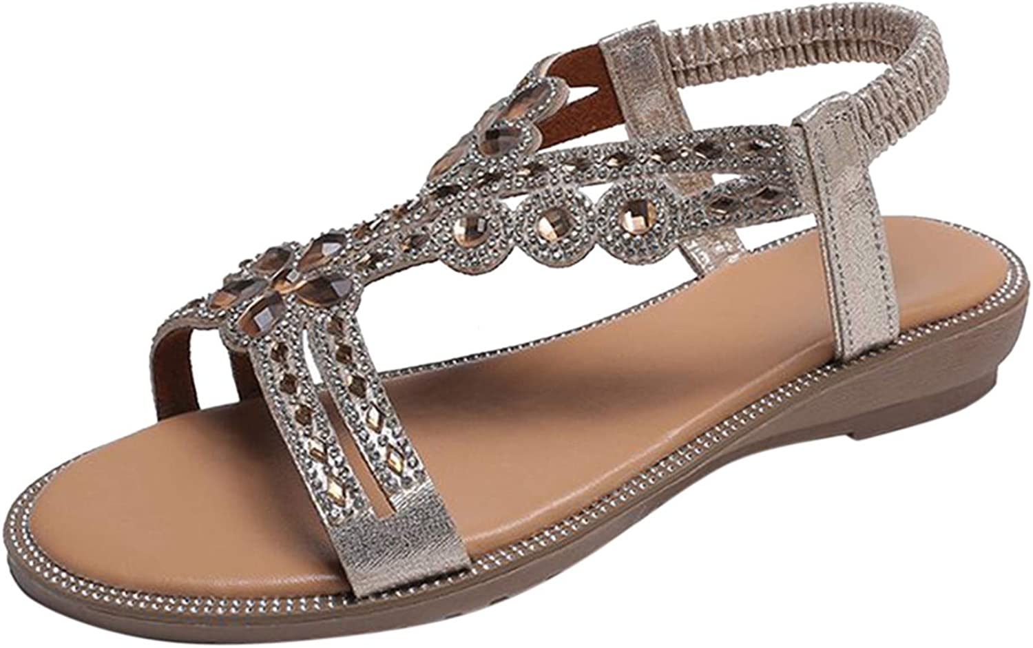 Nihewoo Sandals for Women Casual Max 58% OFF Comfort Summer Plus It is very popular Size Ladies