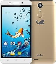 Kata i5 - 5-inch Super HD IPS Octa Core International Unlocked Smartphone Android 6.0 - Super Slim Super HD 1.3 GHz Dual Sim Card 4G 13MP Camera (Gold)