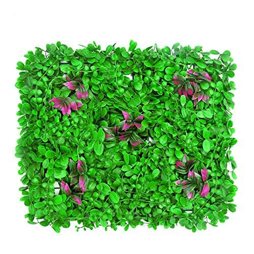 TianLin künstliche Hecke Buchsbaum Zaun Pflanze Sichtschutz verwenden Gartenzaun Hinterhof Dekor Grünwände
