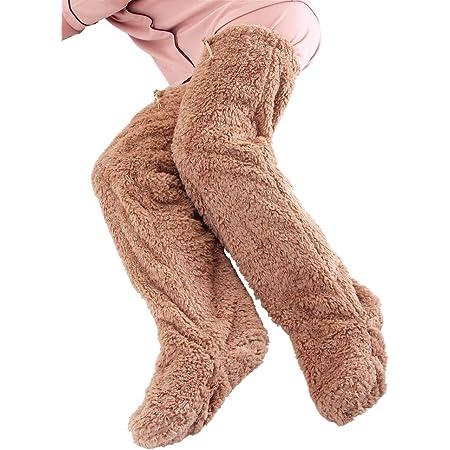 アルファックス 極暖 足が出せるロングカバー ストッパー付き ブラウン・Lサイズ
