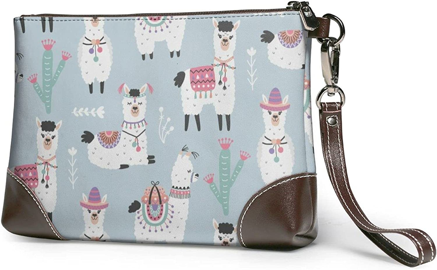 Cute Alpaca Clutch Purse Travel Wallet Free shipping / New Wri Sale SALE% OFF Zipper Party Bag With