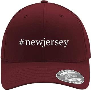 #Newjersey - Adult Men's Hashtag Flexfit Baseball Hat Cap