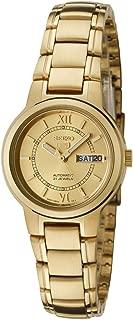 Women's Gold Tone Seiko 5 Automatic Dress Watch