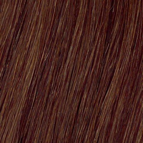 American Dream original de qualité 100% cheveux humains 40,6 cm soyeuse droite trame Couleur 5 NR – Gingembre cuivre