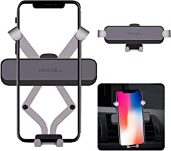 Car Phone Mount, MEYUEWAL Vehicle Air Vent Phone Clip Holder, Gravity Auto-Clamping Cradle Compatible with iPhone Xs Max XR X 8 8P 7 7P 6S 6P 6, Samsung Galaxy, Google, LG