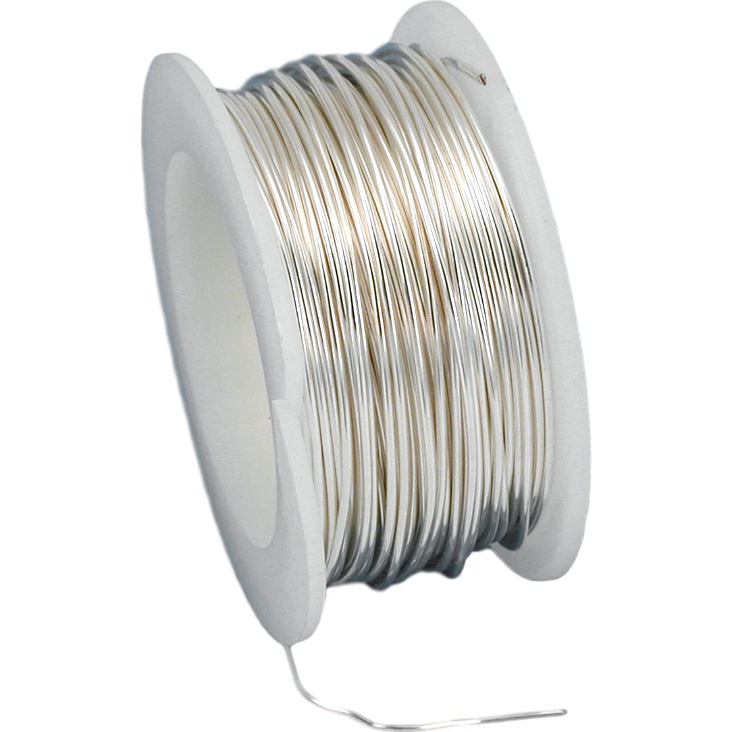 Artistic Wire 22 Gauge 8yd-Non-Tarnish Silver