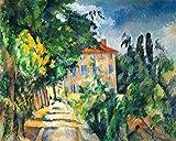 Kunstdruck/Poster: Paul Cézanne Maison au toit Rouge -
