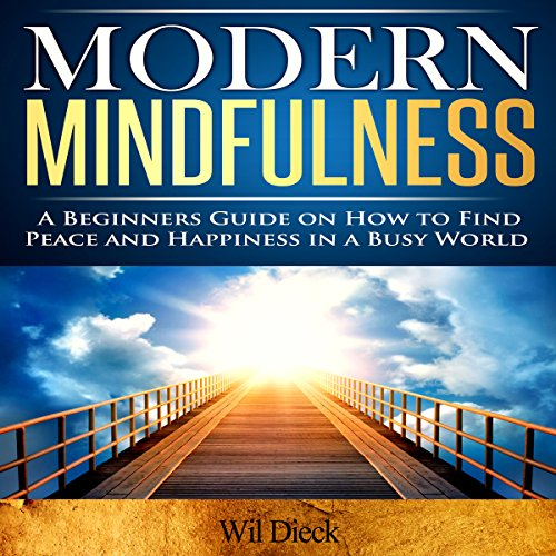 Modern Mindfulness audiobook cover art