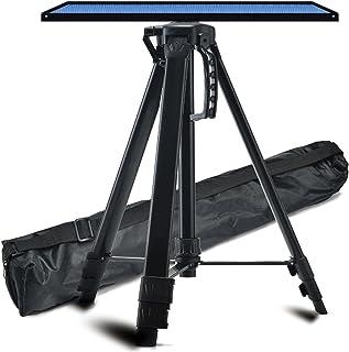 Projector Stand حامل العارض خفيف الوزن قابل للتعديل ترايبود الطابق حامل حامل 360 درجة قطب الكرة رئيس مع ارتفاع 17 إلى 47 ب...