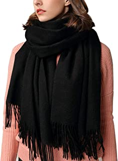 Cashmere Scarf, Fashion Large Soft Warm Winter Scarf Wrap Shawl for Women, Men