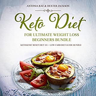 Keto Diet for Ultimate Weight Loss Beginners Bundle audiobook cover art