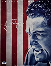 Leonardo DiCaprio Signed J. Edgar Hoover 11x14 Photo PSA/DNA Q53251 Autograph