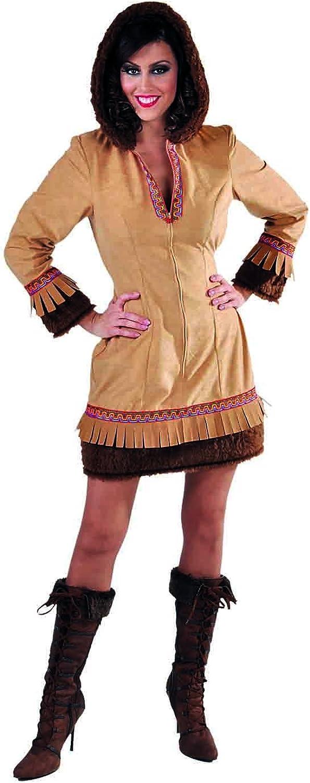 M215181 Damen Eskimo Kostüm-Kleid Eskimodame Eskimofrau B076ZWHMSZ Hervorragende Eigenschaften     | Guter weltweiter Ruf