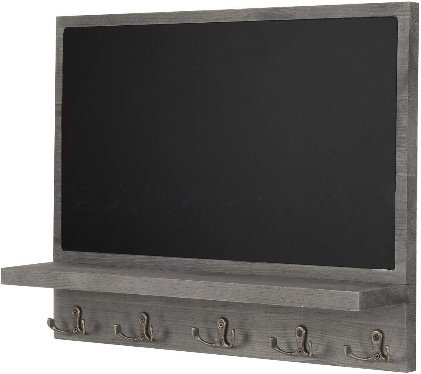 HLD Creative Multi-Function Hanging Type Blackboard Wall Shelf I