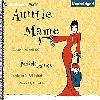 Auntie Mame audiobook cover art
