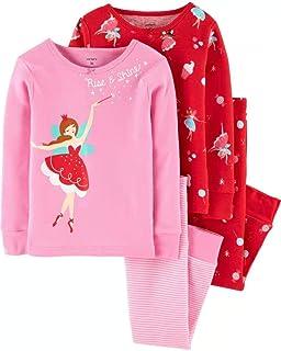 £14 New M/&S Girls Pyjamas Set Long Sleeve Snuggle Fit Kids Cotton 12 18 24 Month