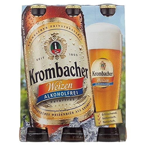 Krombacher Weizen Alkoholfrei Weizenbier MEHRWEG (6 x 0.33 l)
