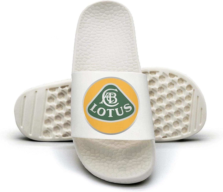 EIGKASL Printed Non-Slip Slippers Slide flip Flop Sandals Lotus-Symbol-Logo-Emblem-Summer Comfortable for Womens