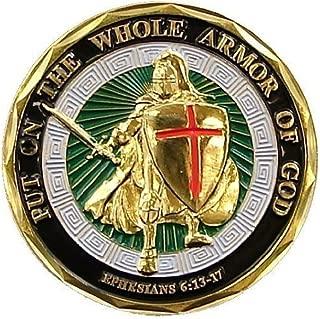 God's Armor Challenge Coin (Value Pack) (SDDKJ-5pcs)