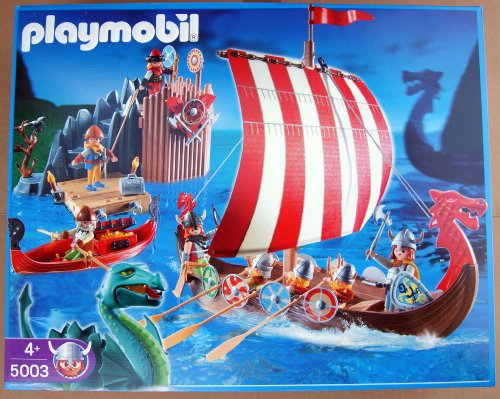 PLAYMOBIL - Mega Set Vikingo (5003)