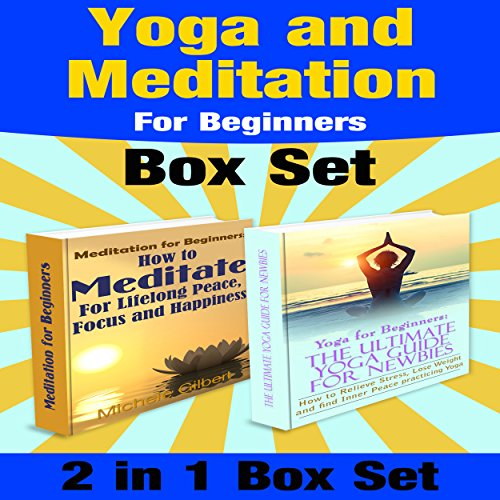 Yoga and Meditation for Beginners Box Set audiobook cover art