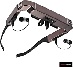 360 Sound And Vision (VISION-800) Mobile Theater Video Glasses with Pre-Loaded Movies, Music & Photos