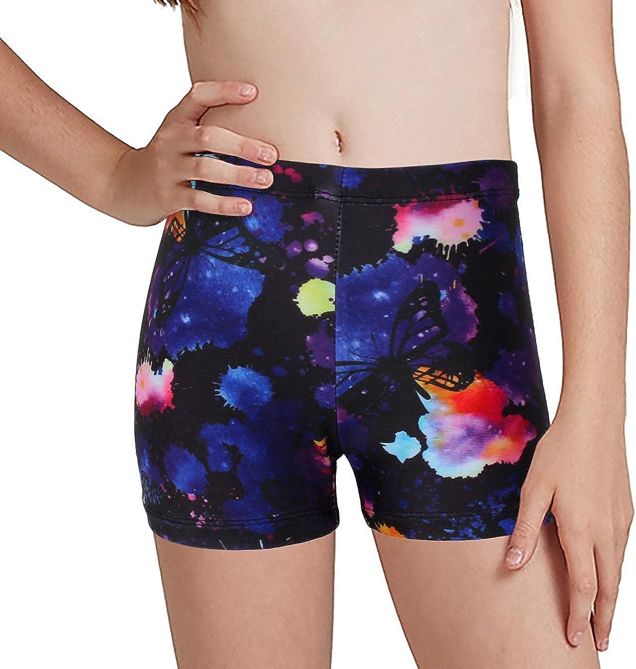 MODAFANS Superior Leotards for Girls Gymnastics with Baltimore Mall Dance unitard Shorts