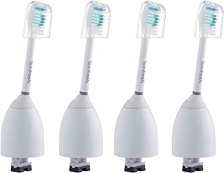 Sonifresh Replacement Brush Heads - Toothbrush Heads Compatible with Philips Sonicare e series,essence,elite,Advance HX7001,4 Pack