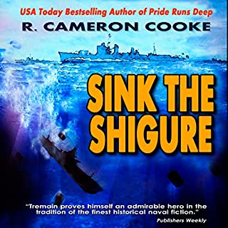 Sink the Shigure audiobook cover art