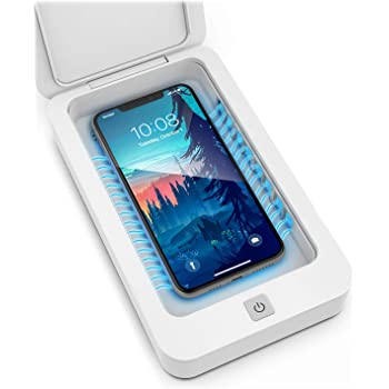 Galvanox UV Phone Sanitizer, Portable UV-C Light Sterilizer UV Sanitizer Box Sterilizer UV Cleaner for Cell Phones, Keys, Gloves, Wallets and More