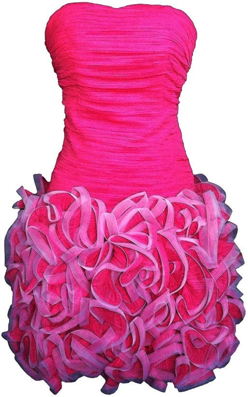 Alivila.Y Fashion Strapless Mesh Women's Cocktail Party Dress 8227