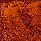 Pigment naturel pour béton et chaux : Terre de Sienne Calcinée - 1 Kg