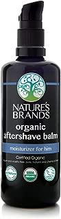 Nature's Brands Herbal Choice Mari Organic Aftershave, Moisturizing Balm; 3.4floz