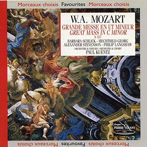 Orchestre & Chorale Paul Kuentz, Barbara Schlick, Mechthild Georg, Alexander Stevenson, Philip Langshaw