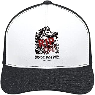 Nicky Hayden Unisex Fashion hat Contracted hat All-Season Cap The Adjustable Cap