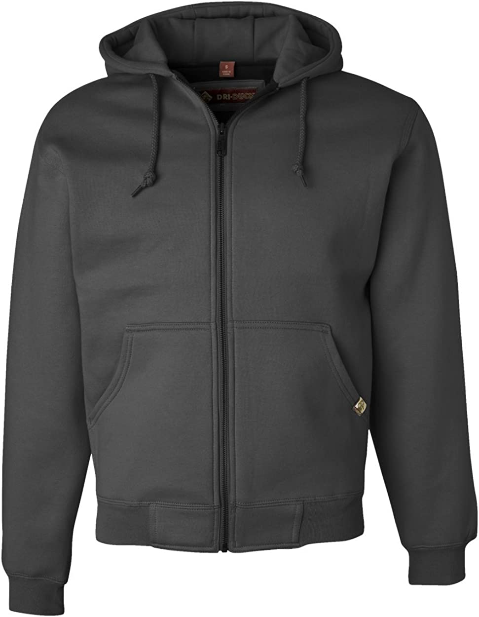 Dri-Duck Adult Crossfire Thermal-Lined Fleece Jacket. 7033 - XXX-Large - Dark Oxford