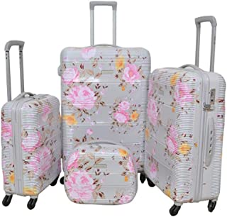 Magellan Luggage Trolley Bags Set of 4 Pcs , Silver , PC633T4