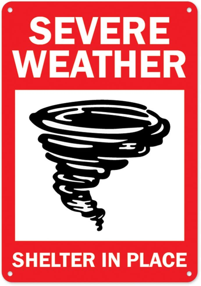 All items in the store COVID-19 Notice New sales Sign - Severe Shelter Place Weather Plastic