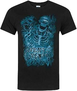 Vanilla Underground Avenged Sevenfold Chain Skeleton Men's T-Shirt