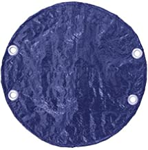 Puri Tech Bulldog Winter Royal Blue Black Cover for 24ft Round Swimming Pools Made of Polyethylene
